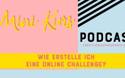 Mini-Workshop: Online Challenges erstellen und nutzen