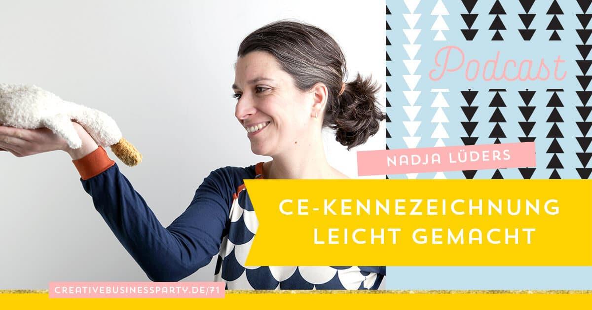 Spielzeug herstellen & CE-Kennzeichnung mit Nadja Lüders