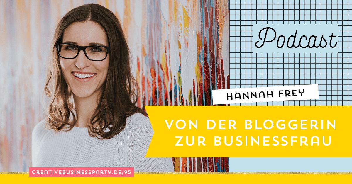 Hannah Frey – Von der Bloggerin zur Businessfrau