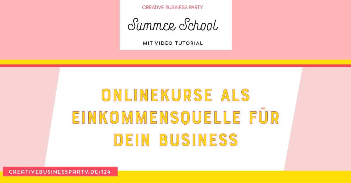 Onlinekurse als Einnahmequelle für dein Business