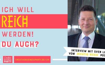 Ich will reich werden – du auch? Interview mit Sven Lorenz