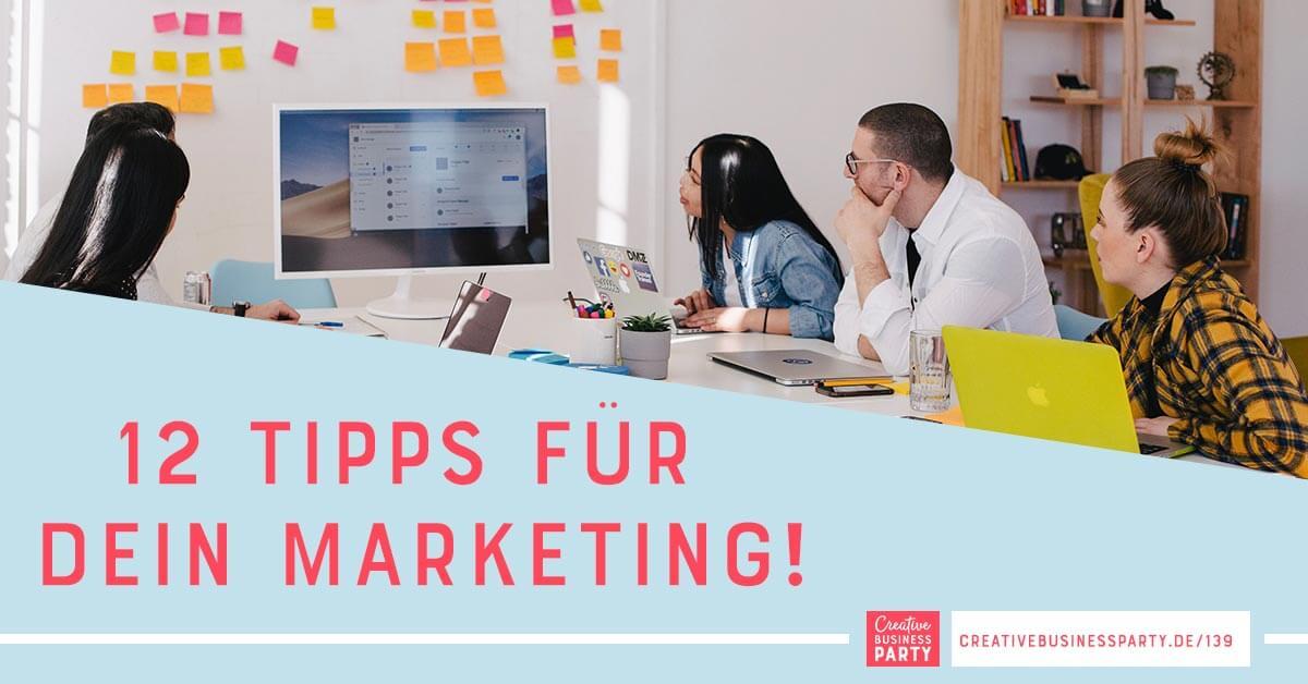Zwölf Tipps für dein Online Marketing