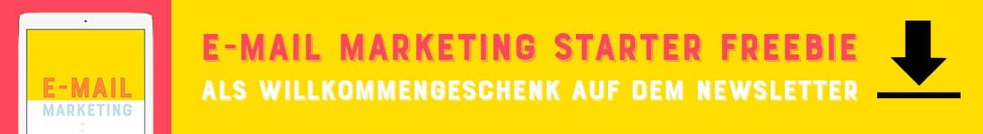 E-Mail Marketing Starter Freebie by Johanna Fritz