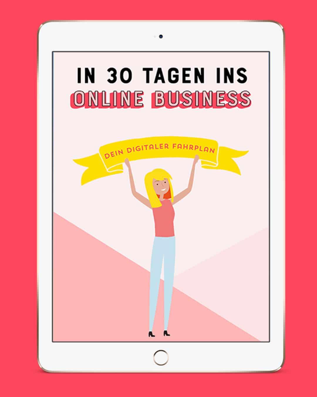 Fokus behalten im Business - Kostenloses Freebie Johanna Fritz