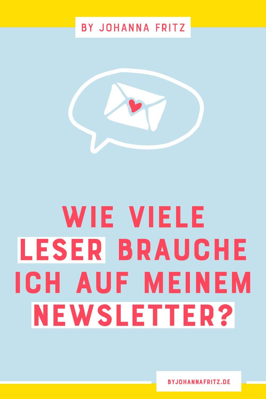 Wie viele Leser braucht man eigentlich auf seinem Newsletter um ein Produkt zu launchen? Weniger als du vielleicht denkst. - By Johanna Fritz