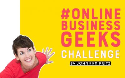 OnlineBusinessGeeks Challenge: 365 Tage