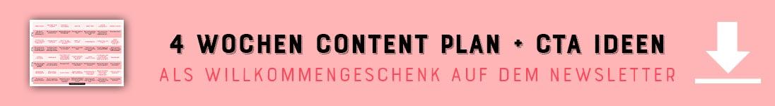 28 Themen Ideen für deine Content Planung für Instagram Posts - By Johanna Fritz