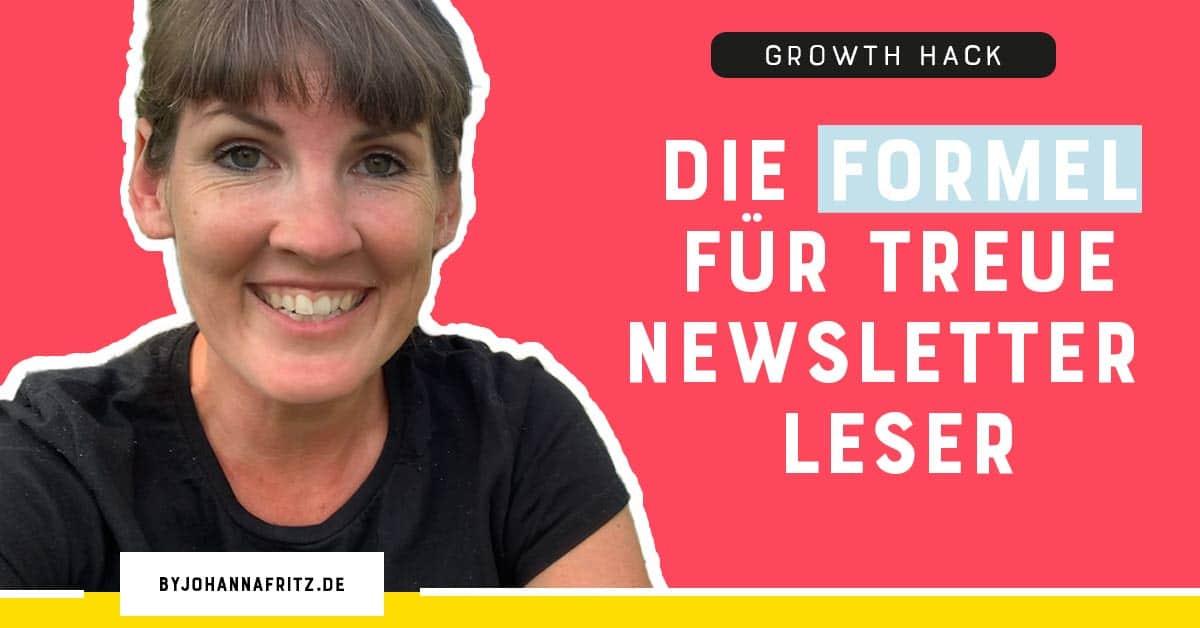 Newsletter Onboarding oder Willkommenssequenz im E-Mail Marketing für treue Newsletter Leser By Johanna Fritz