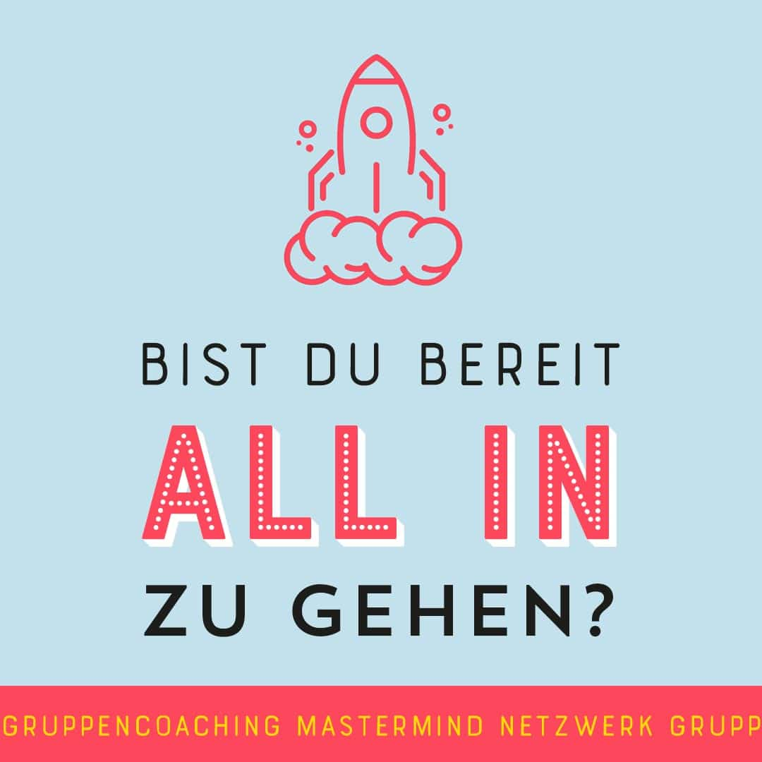All-in Gruppencoaching & Mastermind by Johanna Fritz