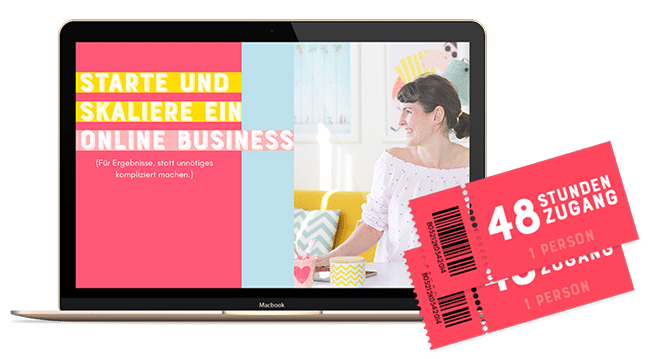 Workshop: Starte und skaliere dein Online Business