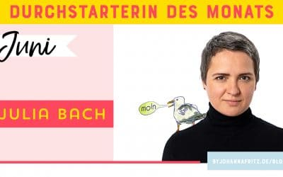 Online Durchstarten Interview: Illustratorin Julia Bach