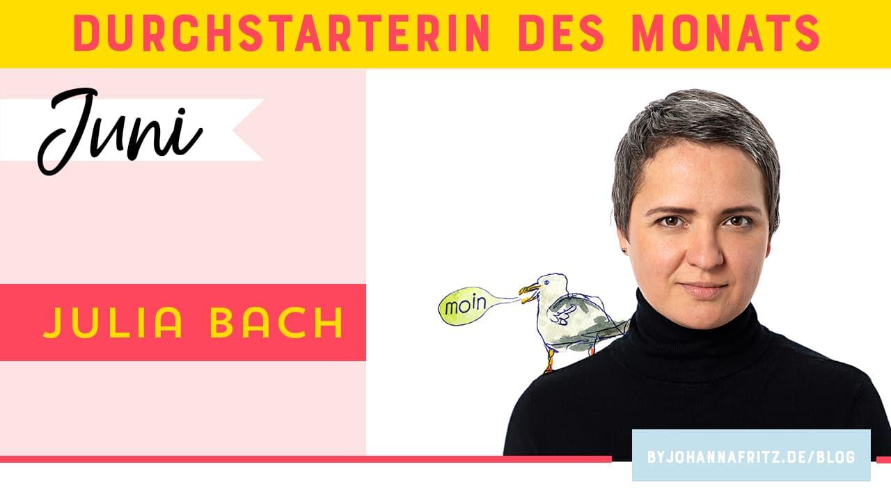 Online Durchstarten Interview: Illustratorin Julia Bach
