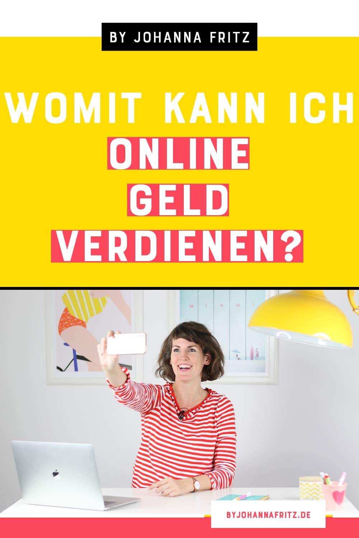 Online Geld verdienen - Diese Business Modelle gibt es 2020 für dein Online Business abseits von einem Onlinekurs - By Johanna Fritz