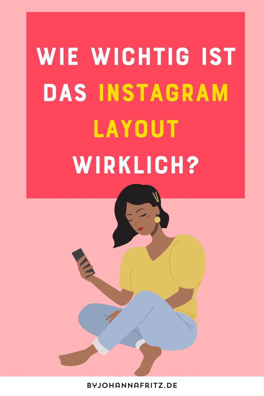 wie wichtig ist das instagram layout? Instagram Tipps Olivia Grimaud - By Johanna Fritz Podcast
