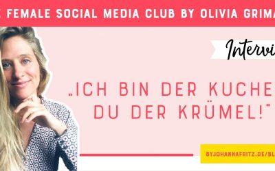 """""""Ich bin der Kuchen – du der Krümel"""" – Interview mit Olivia Grimaud"""
