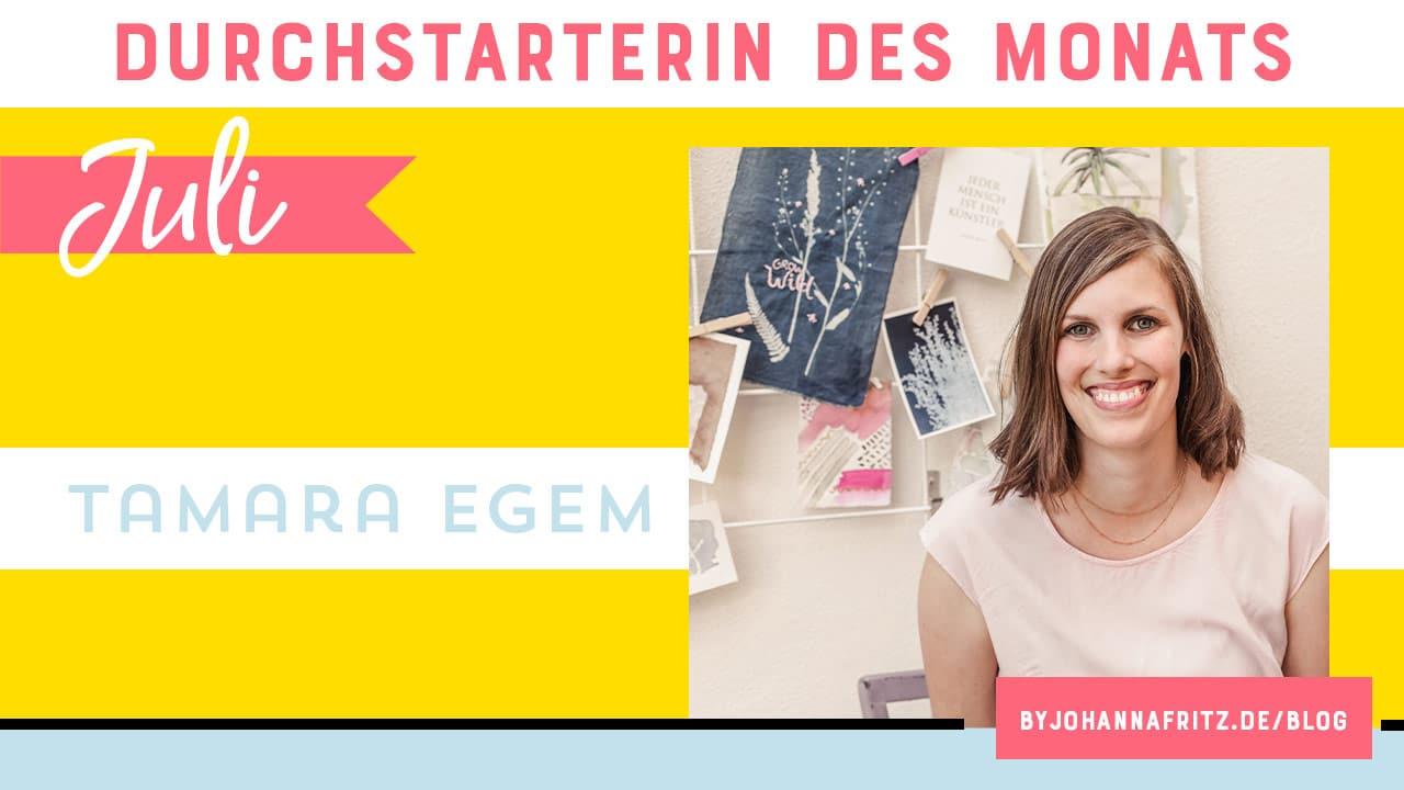 Interview: Art Journaling mit Tamara Egem