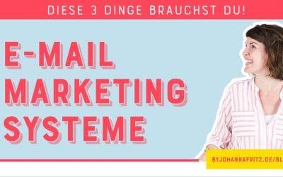 Welches E-Mail Marketing System ist das Richtige?