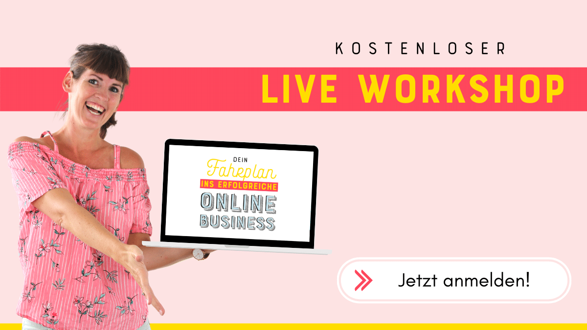 Live Workshop - Online Business Aufbau