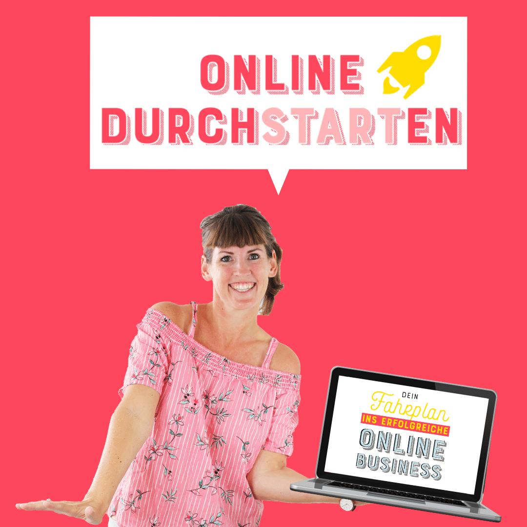 Onlinekurs und Mentoring für Online Business Aufbau - Online Durchstarten by Johanna Fritz