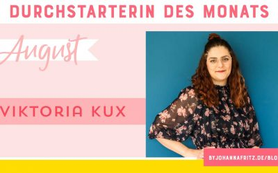 Online Durchstarten Interview: Social Media Queen Viktoria Kux