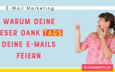 Individuelle Ansprache im E-Mail Marketing durch Tags
