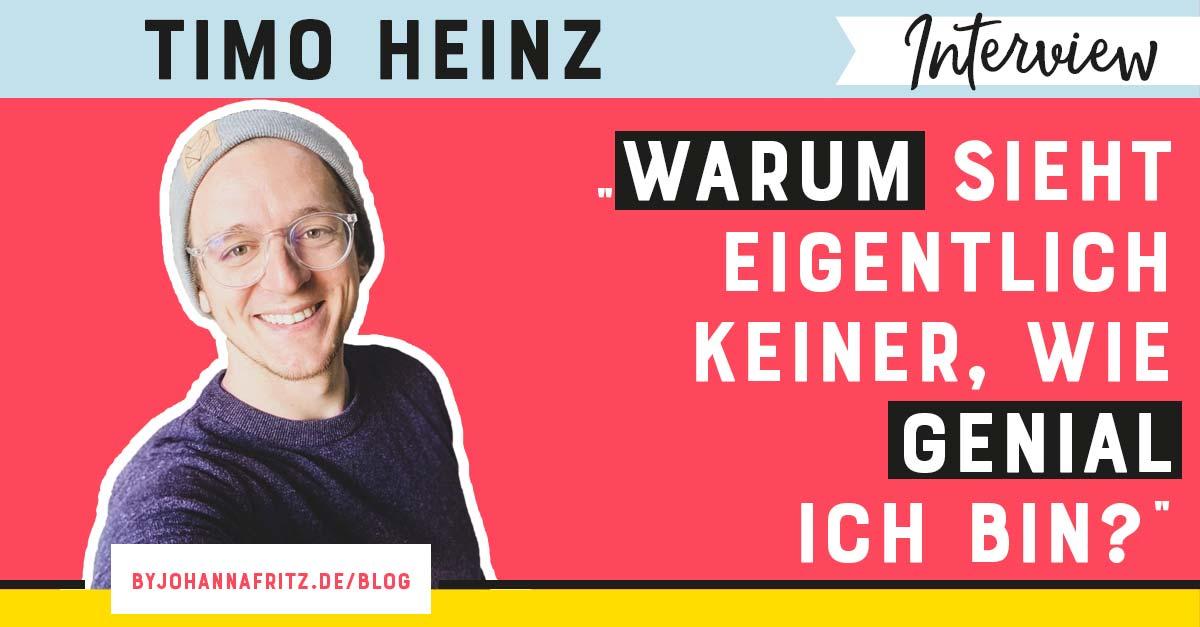 Positionierung als Experte im Online Business - Interview mit Timo Heinz by Johanna Fritz - Online Business Geeks Podcast