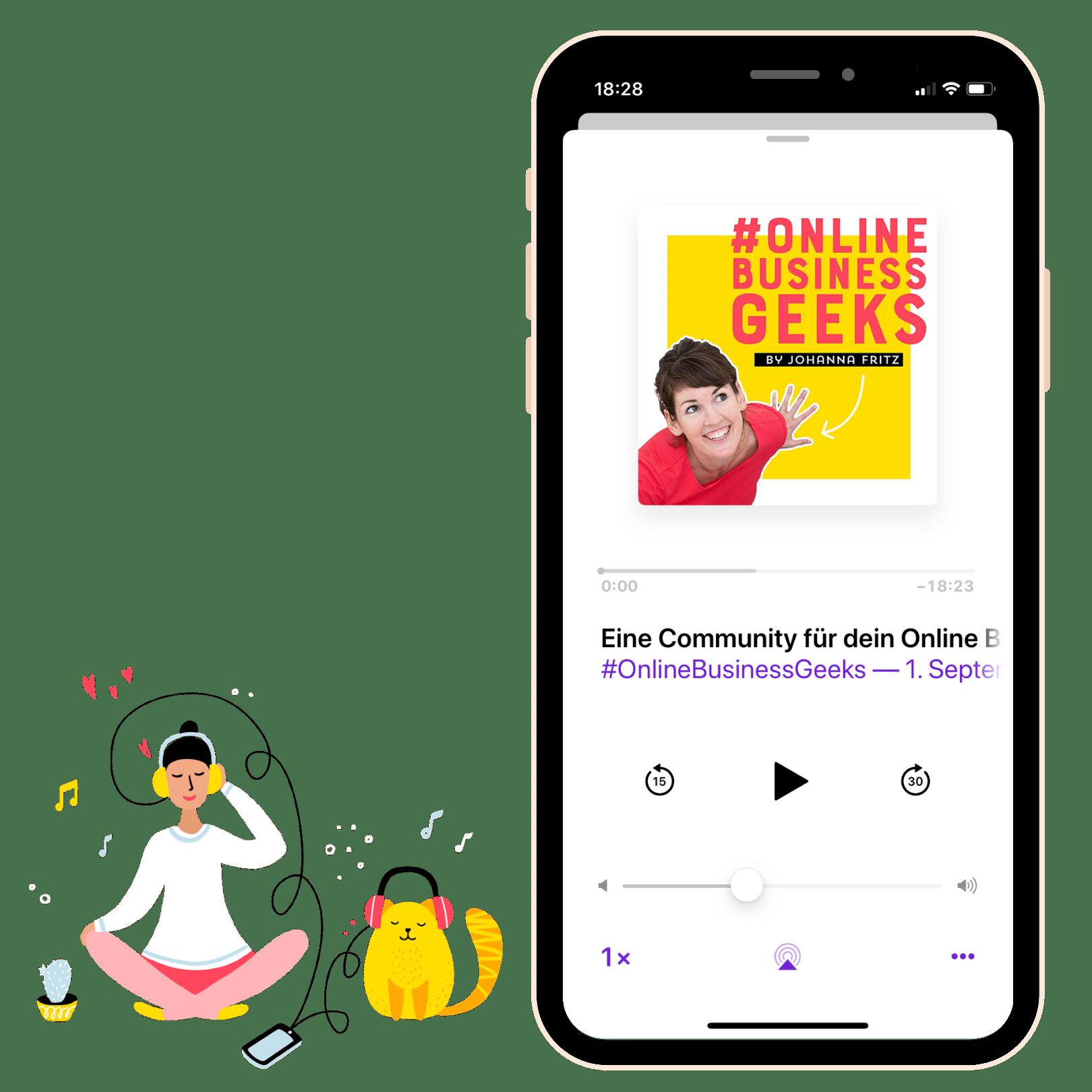 #OnlineBusinessGeeks Podcast von ByJ