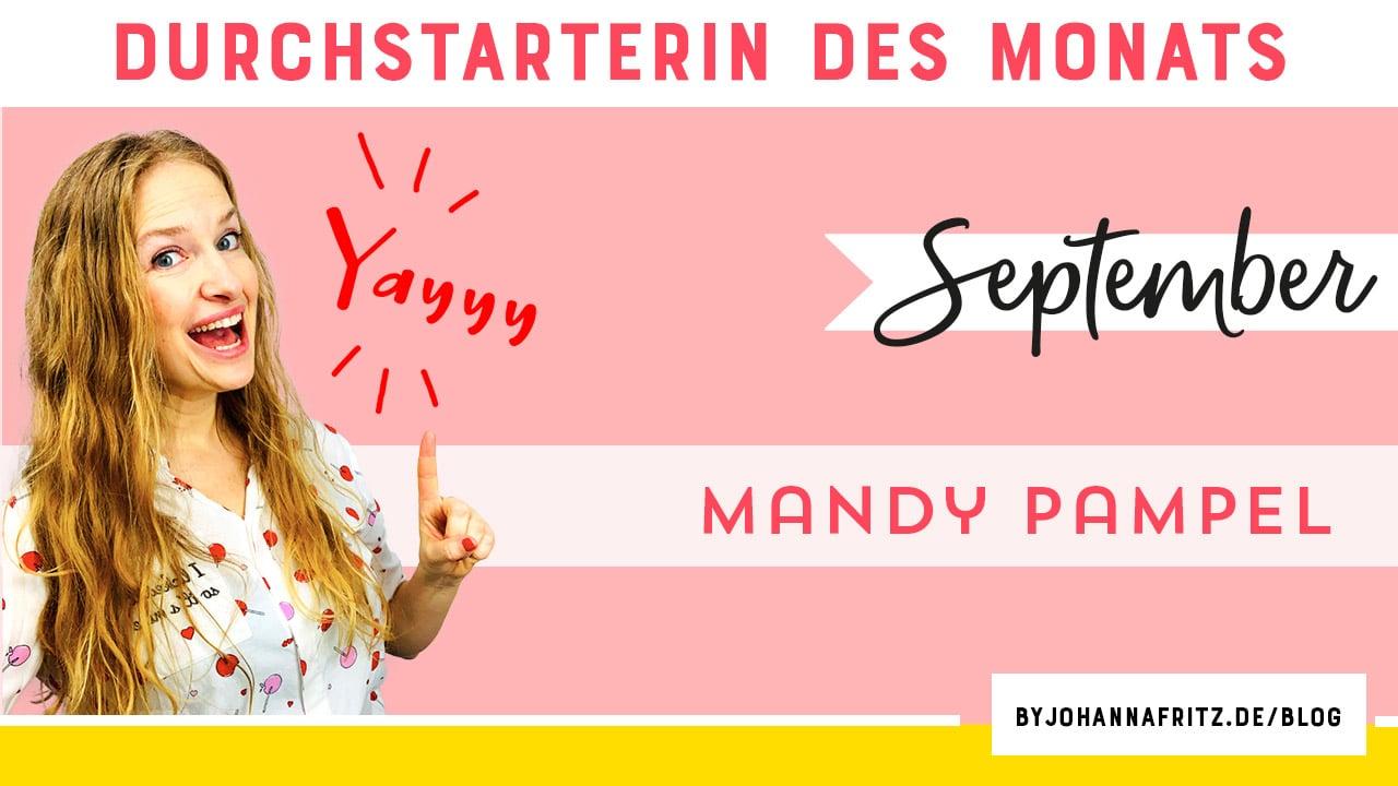 Online Durchstarten Interview: Der Spaß des Lebens mit Mandy Pampel