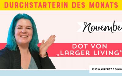 Online Durchstarten Interview: Dot – Beraterin für intuitives Essen