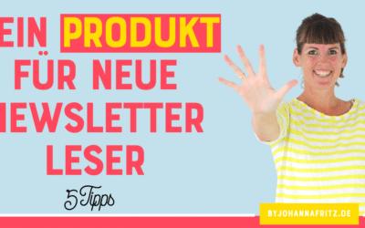 Minimum Viable Product: Dein Produkt für neue Newsletter Leser:Innen