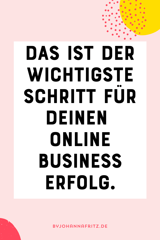 Online Business - Das ist die Basis für deinen Erfolg