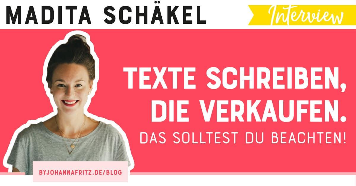 Madita Schäkel: Copywriting Tipps - Texte schreiben, die verkaufen