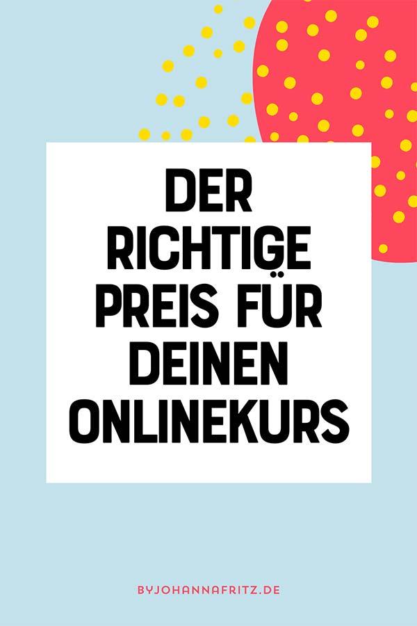 Preisfindung: Wie du den Preis für deinen Onlinekurs festlegst