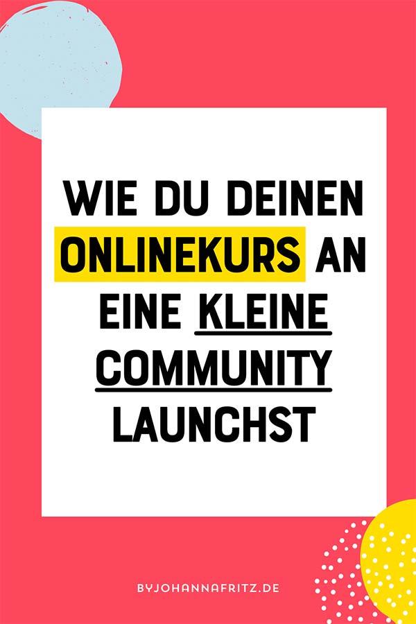 Founding Member Launch mit deinem Onlinekurs oder Mitgliederbereich