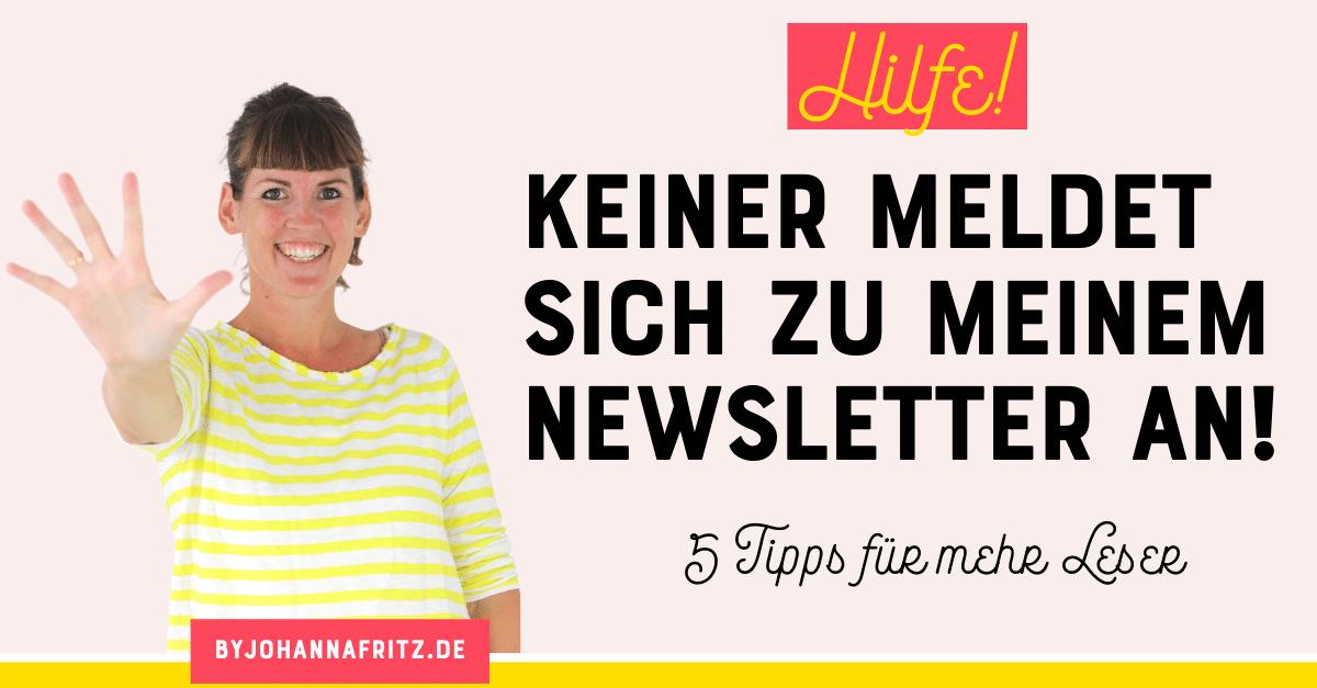 Mehr Newsletter Leser gewinnen - 5 Tipps