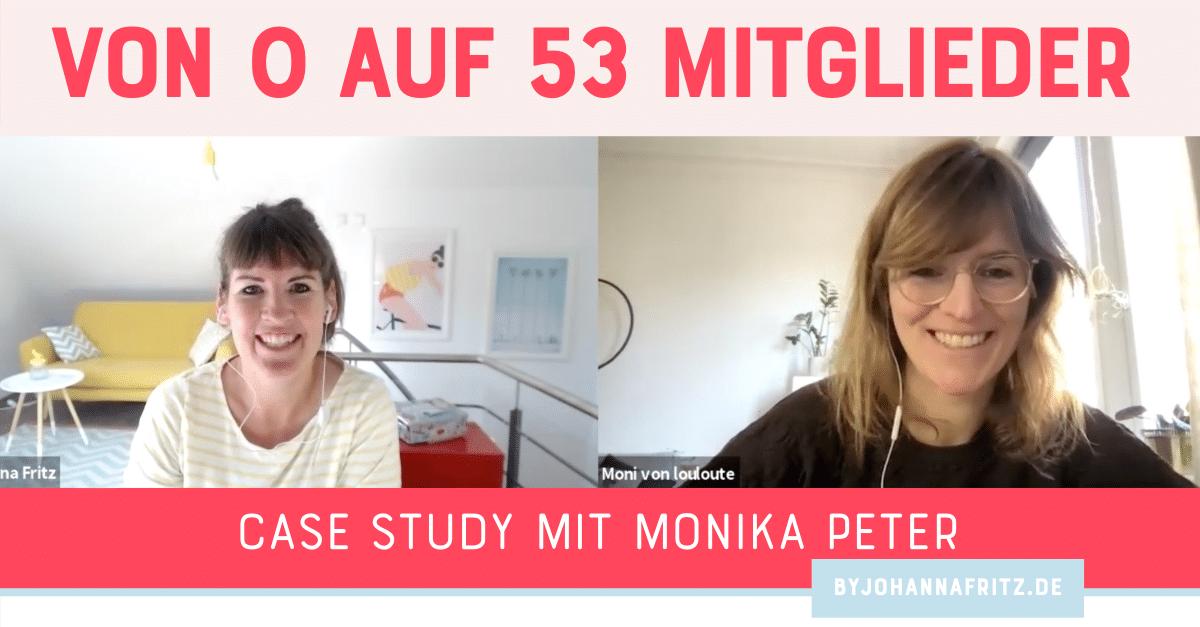 Von 0 auf 53 Gründungsmitglieder bei ihrem Membership Launch - Interview mit Monika Peter von Louloute Nähatelier