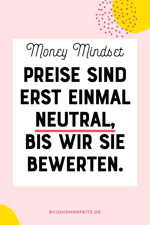 Money Mindset und Preise finden - Interview mit Julia Lakaemper by Johanna Fritz