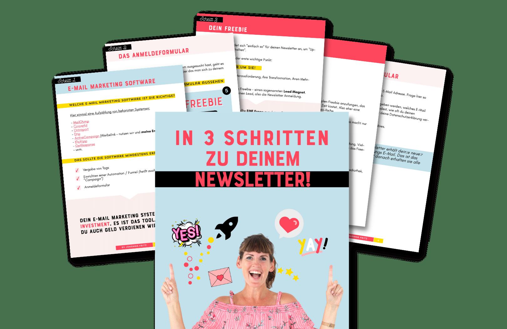Online Durchstarten 3.0 - By Johanna Fritz