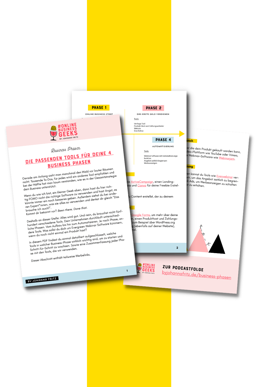 Business Phasen Übersicht - Johanna Fritz PDF