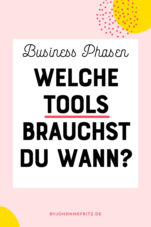 Tools und Technik im Online Business by Johanna Fritz
