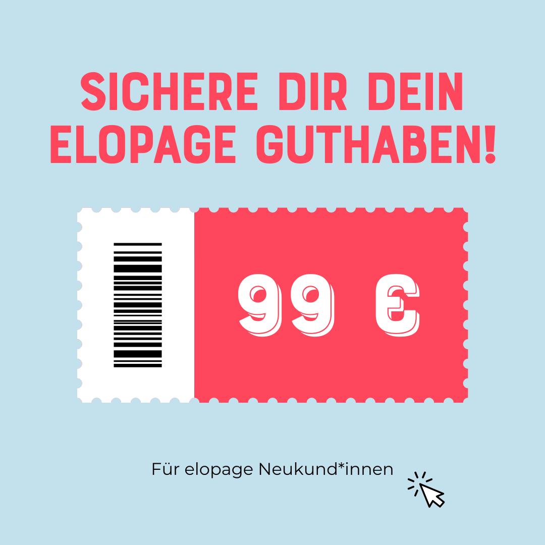 elopage 199 € Gutschein